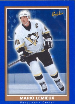 2005-06 Beehive Blue  #71 Mario Lemieux