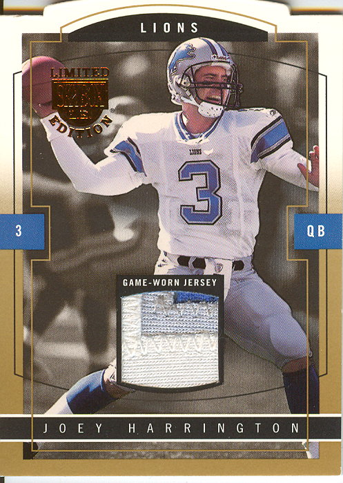 2003 SkyBox LE Jersey Proofs Gold #59 Joey Harrington
