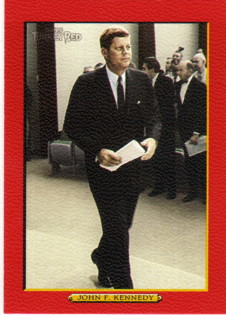 2005 Topps Turkey Red Red #288 John F. Kennedy
