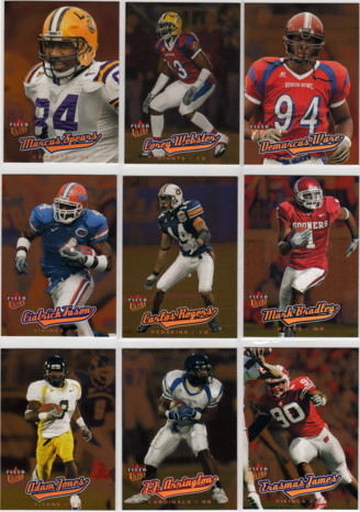 2005 Ultra #233 Carlos Rogers RC