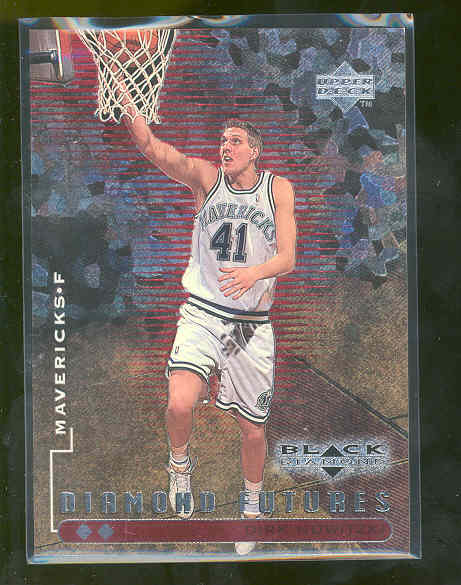1998-99 Black Diamond Double Diamond #92 Dirk Nowitzki