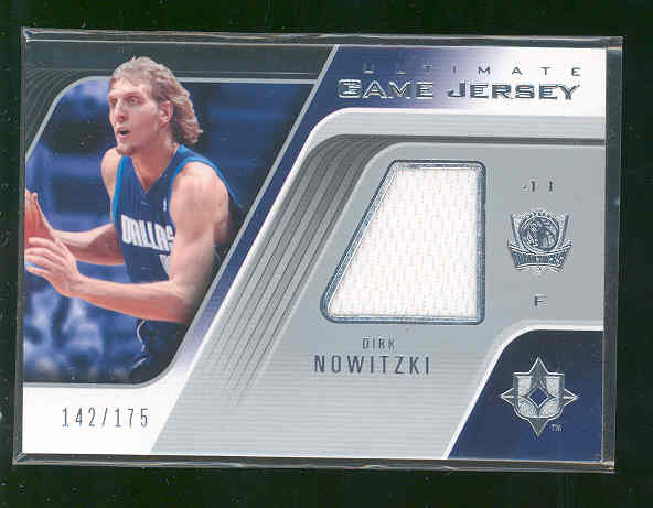 2004-05 Ultimate Collection Game Jerseys #DN Dirk Nowitzki