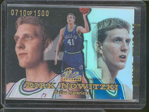 1998-99 Flair Showcase Row 1 #16 Dirk Nowitzki