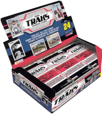 2006 Press Pass NASCAR Traks Racing Factory Sealed Hobby Box - Random Autographs & Memorabilia Cards - In Stock & On Sale Now