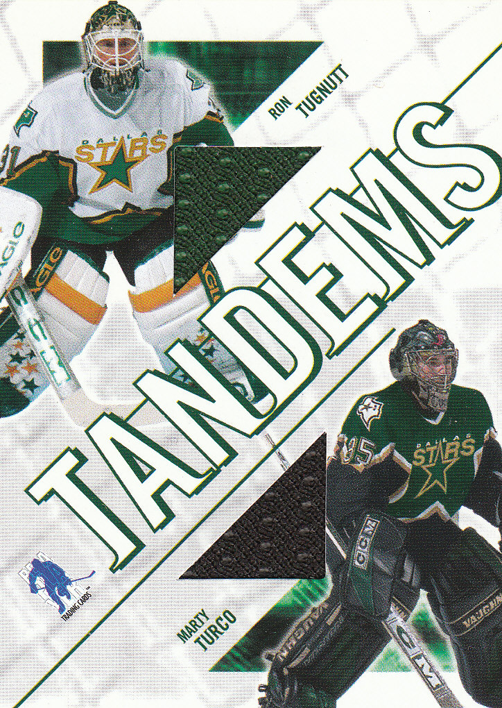 2003-04 BAP Memorabilia Tandems #T6 Marty Turco/Ron Tugnutt