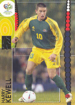 2006 Panini World Cup Soccer # 50 Harry Kewell Australia