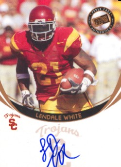 2006 Press Pass Autographs Bronze #65 LenDale White