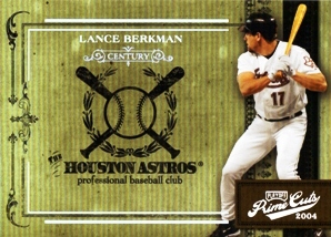 2004 Prime Cuts II Century Silver #17 Lance Berkman