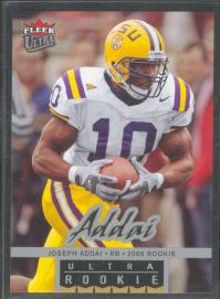 2006 Ultra #239 Joseph Addai RC