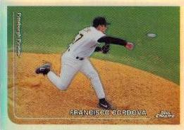 1999 Topps Chrome Refractors #177 Francisco Cordova
