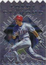 1999 Topps Chrome Lords of the Diamond #LD8 Juan Gonzalez