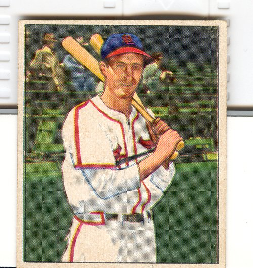 1950 Bowman #180 Harry Walker