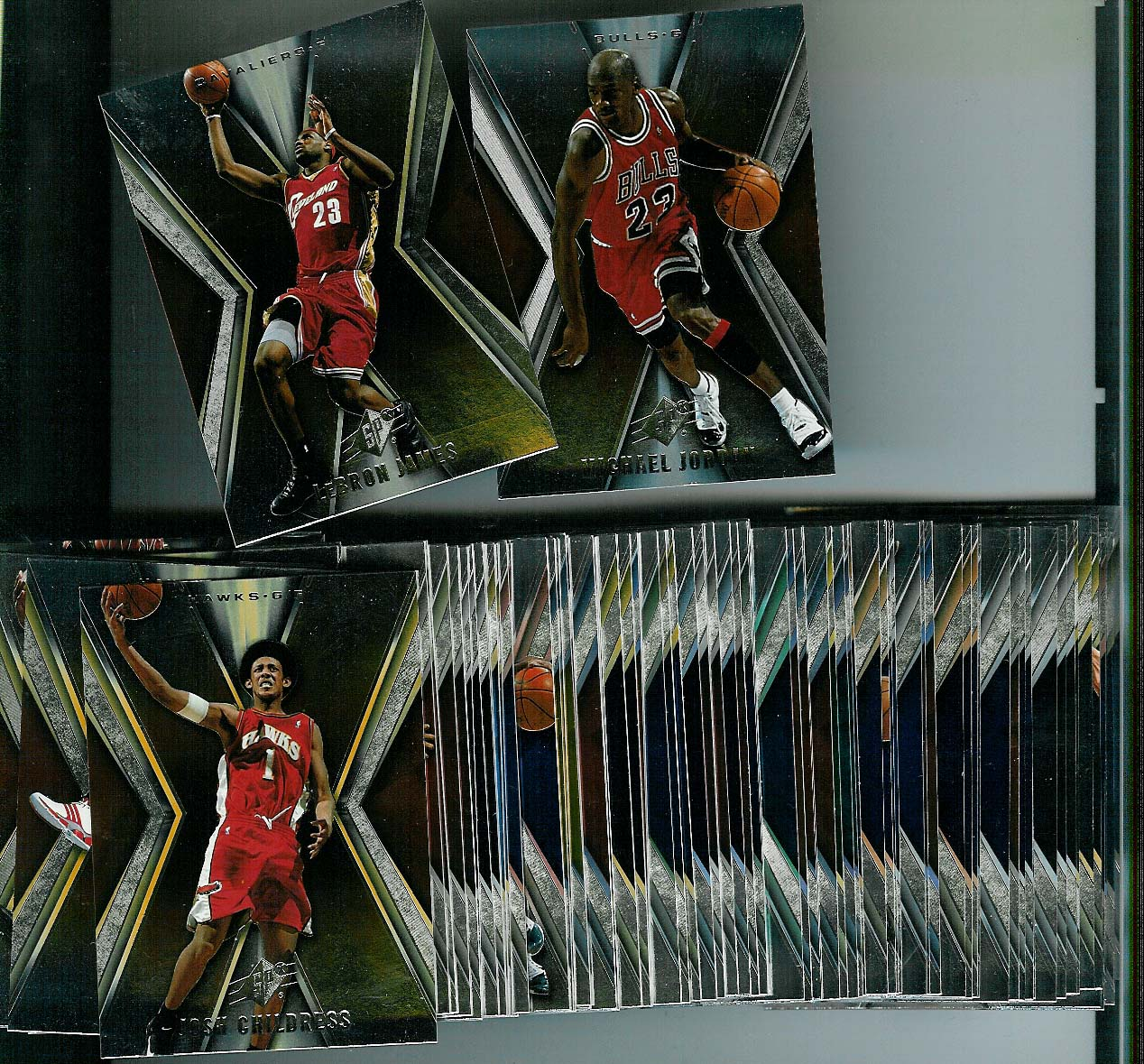 2005-06 UPPER DECK SPX BASKETBALL SET