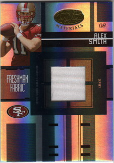 2005 Leaf Certified Materials #202 Alex Smith QB JSY/499 RC