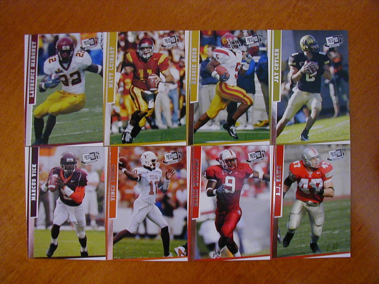 2006 Press Pass SE Football 40 Card Set