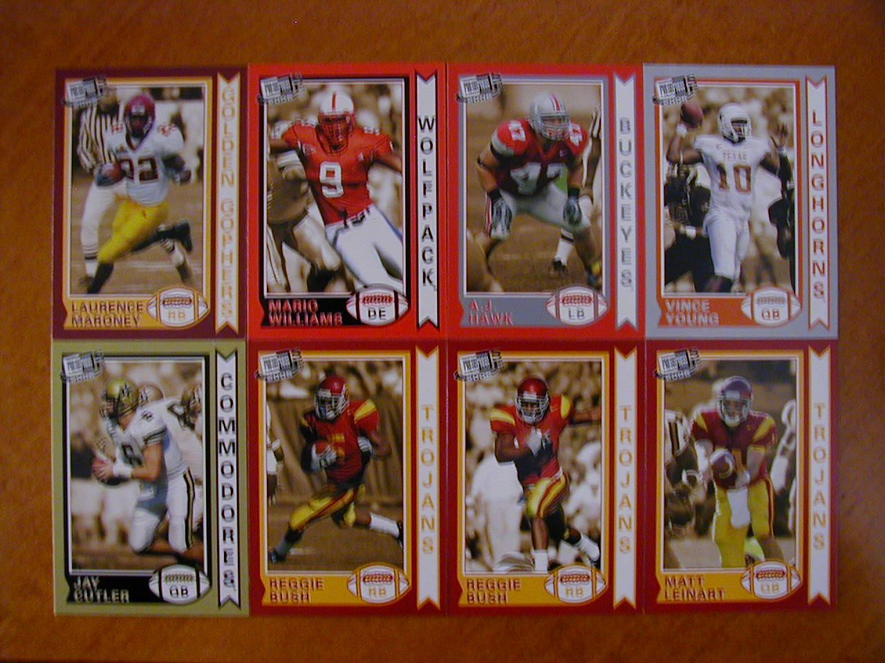 2006 Press Pass SE Old School Football 27 Card Insert Set