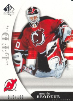 2005-06 SP Authentic Limited #57 Martin Brodeur