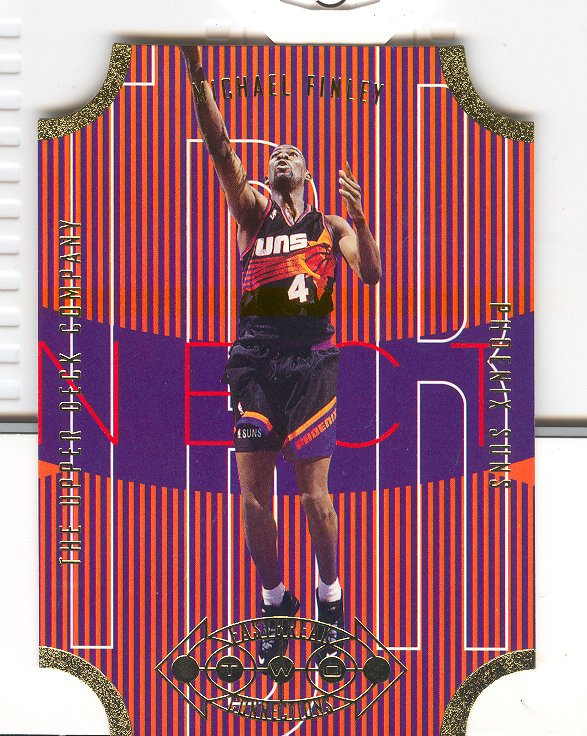 1996-97 Upper Deck Fast Break Connections #FB11 Michael Finley