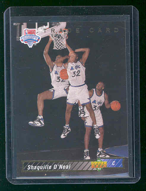 1992-93 Upper Deck #1B Shaquille O'Neal TRADE