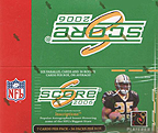 2006 Score NFL Football Cards Box  (LOADED with 36 Rookie Cards + 12 other inserts per box, on average!)