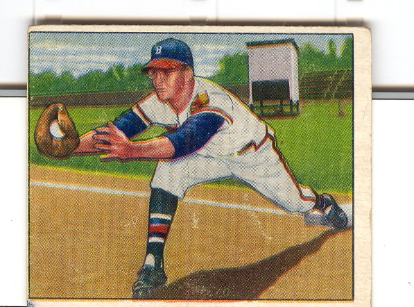 1950 Bowman #163 Earl Torgeson