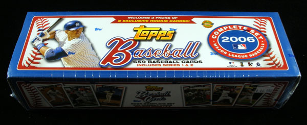 2006 Topps Hobby Baseball Complete Factory Sealed Holiday Edition Set (659 Cards) (Colorful Box)