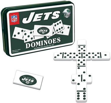 New York Jets Dominoes Set