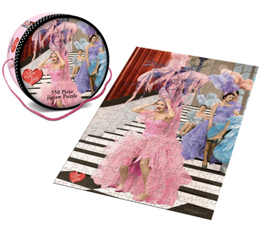 I Love Lucy 550pc Puzzle: Lucy Gets in Pictures, Episode #116