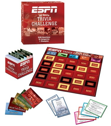 ESPN All-Sports Trivia Challenge Game