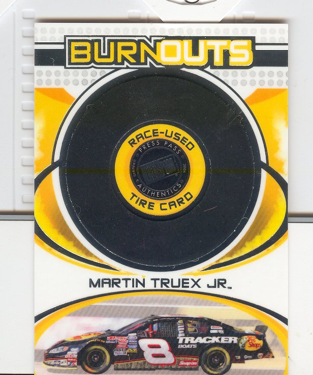 2006 Press Pass Burnouts #HT3 Martin Truex Jr