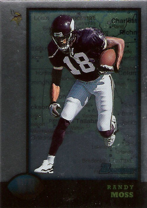 1998 Bowman Interstate #182 Randy Moss