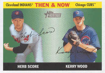 2004 Topps Heritage Then and Now #TN6 H.Score/K.Wood