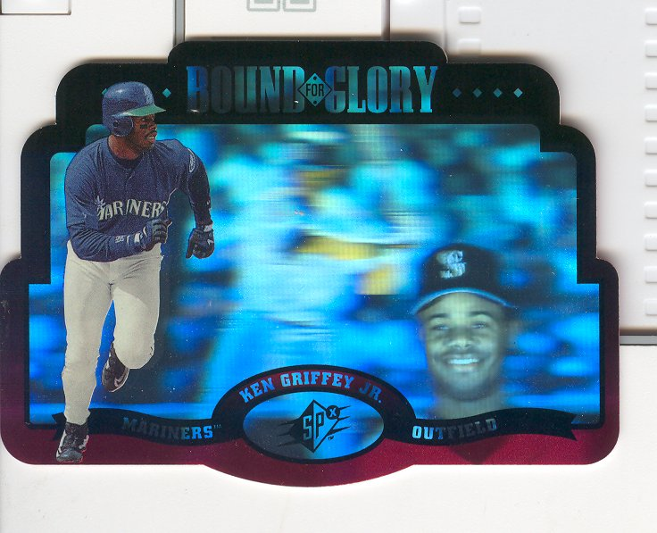 1996 SPx Bound for Glory #1 Ken Griffey Jr.