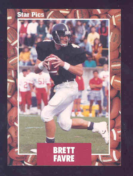 1991 Star Pics #65 Brett Favre