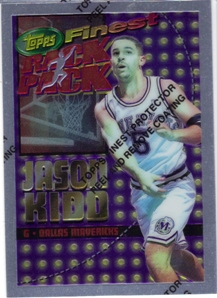 1994-95 Finest Rack Pack #RP7 Jason Kidd