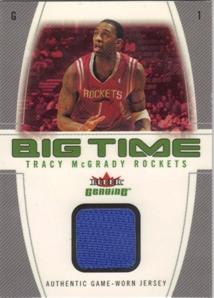 2004-05 Fleer Genuine Big Time Game Used #TM Tracy McGrady