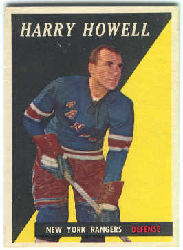 1958-59 Topps #60 Harry Howell