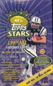 1999 Topps Stars Football Sealed Hobby Box