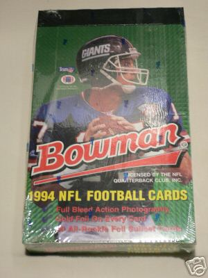 1994 Bowman Football Sealed Hobby Box
