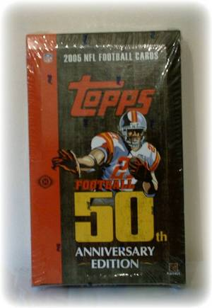2005 Topps Football Sealed Hobby Box