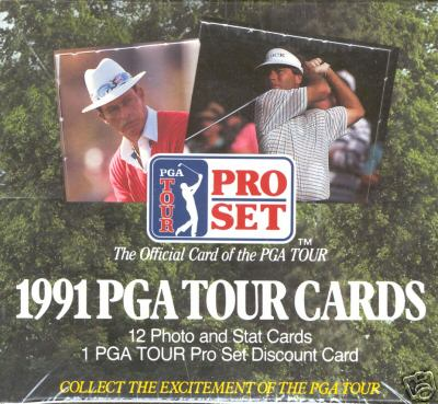 1991 Pro Set Golf Sealed Hobby Box