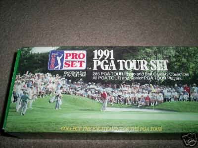 1991 Pro Set Golf Sealed Box Set