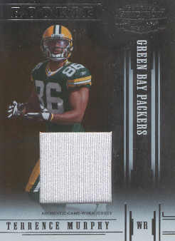 2005 Donruss Gridiron Gear Jerseys #122 Terrence Murphy