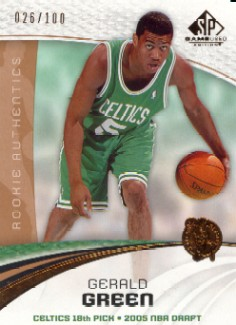 2005-06 SP Game Used 100 #143 Gerald Green