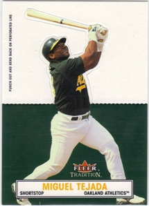 2003 Fleer Tradition Standouts #15 Miguel Tejada