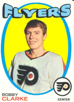 1971-72 Topps #114 Bobby Clarke