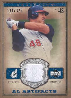 2006 Artifacts AL/NL Artifacts Blue #THA Travis Hafner Jsy/325