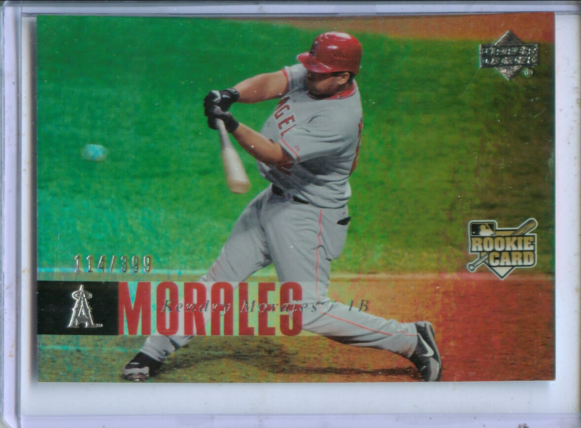 2006 Upper Deck Rookie Foil Silver #992 Kendry Morales