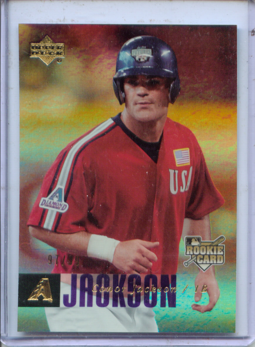 2006 Upper Deck Rookie Foil Gold #973 Conor Jackson