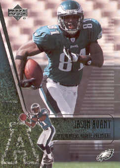 2006 Upper Deck Rookie Premiere #1 Jason Avant